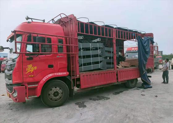 工程洗车机发往河南驻马店