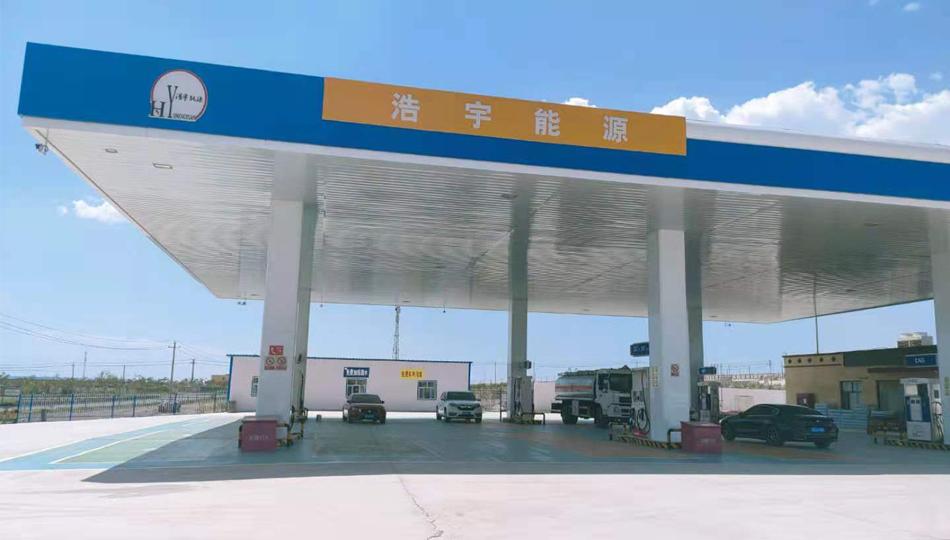 新疆吐鲁番浩宇能源加油站隧道洗车机售后维养